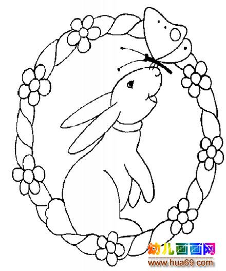 蝴蝶简笔画11