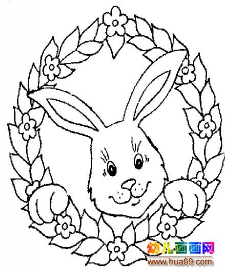 水果篮子矢量素材 花篮简笔画图片 小兔子花篮简笔画2,画画网 儿童
