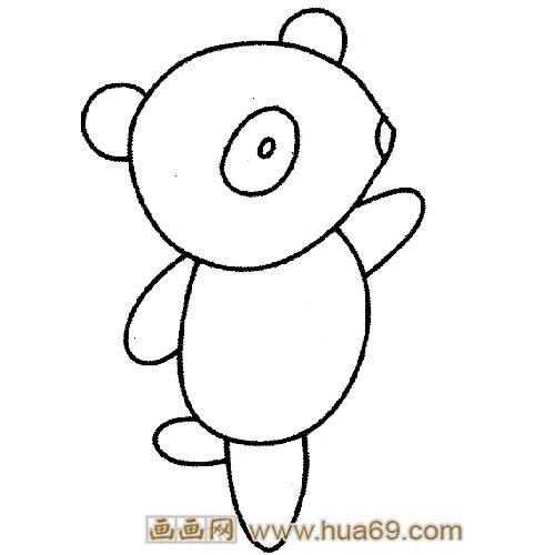 求图答:小动物简笔画图片加颜色答:求采纳    怎么画熊猫的 简笔画呢?