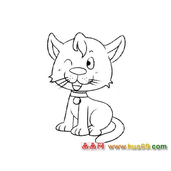 超减压的猫咪简笔画 手残党也能画的超可爱