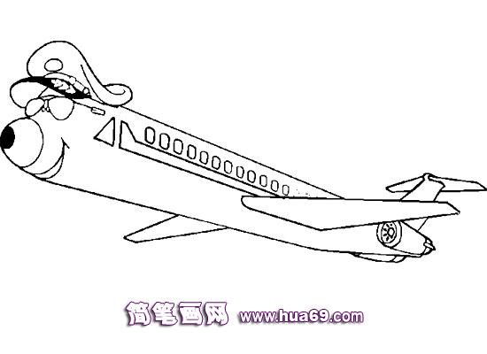 关于战斗机的简笔画(8张)第3张