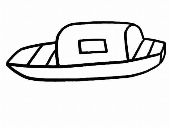船的简笔画-供应乌篷船