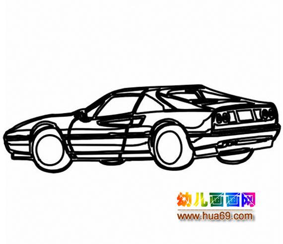 越野車簡筆畫畫法 小汽車簡筆畫高清圖片