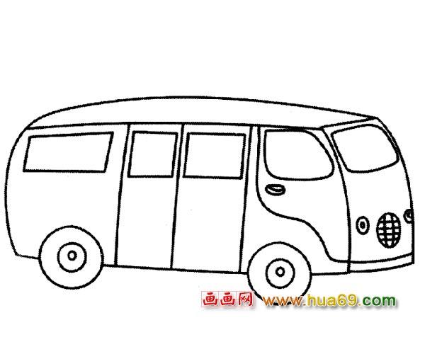 交通工具的简笔画大全 交通工具简笔画步骤