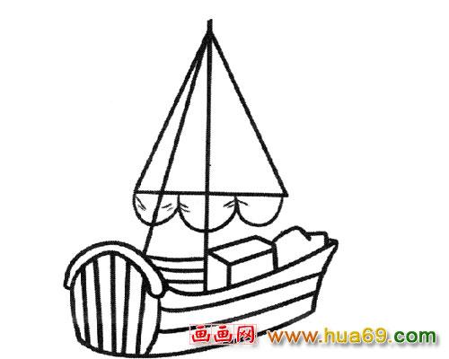 小帆船纹身图片大全展示