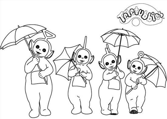 儿童简笔画下雨天_儿童简笔画下雨天画法