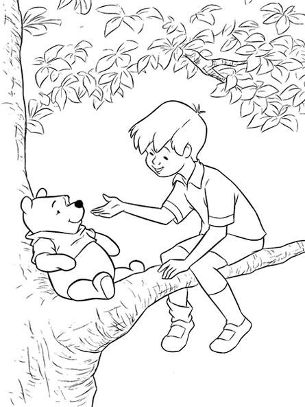 维尼熊简笔画图片