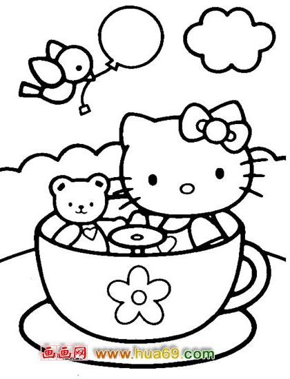 可爱小猫简笔画图片