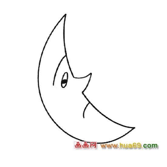 简笔画│弯弯的月亮3