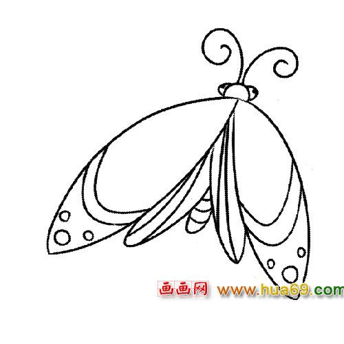 甲虫简笔画图片大全