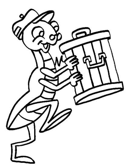 可爱的小蚂蚁_儿童简笔画图片2