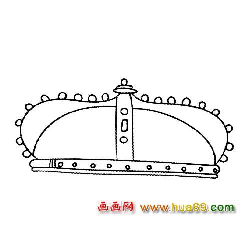 帽子简笔画:皇冠3