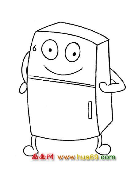 冰箱卡通_冰箱图片卡通