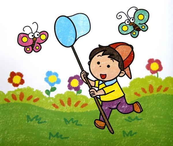 画画网 儿童画 彩笔画