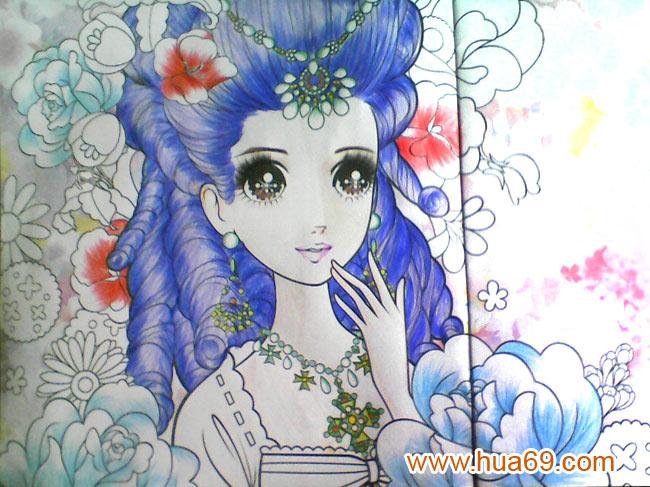 画画图片大全简单漂亮公主五年级_画美丽的公主仙子画图片