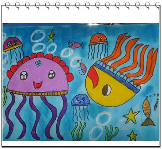 儿童海底世界图画大全_儿童海底世界图画汇总