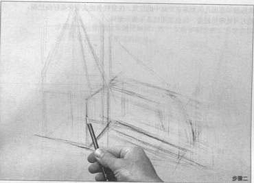 素描入门正方形画法大图