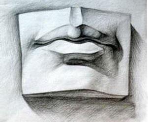 怎样画好人物的嘴巴图片