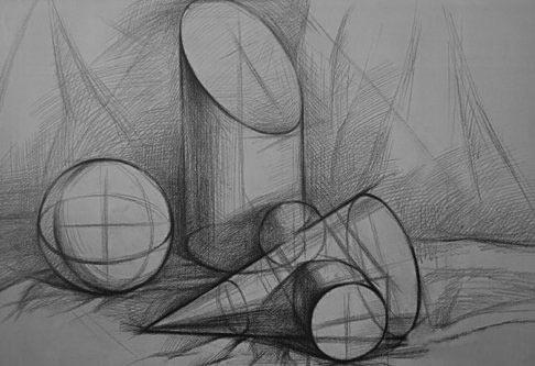 素描绘画中的联想与移情图片