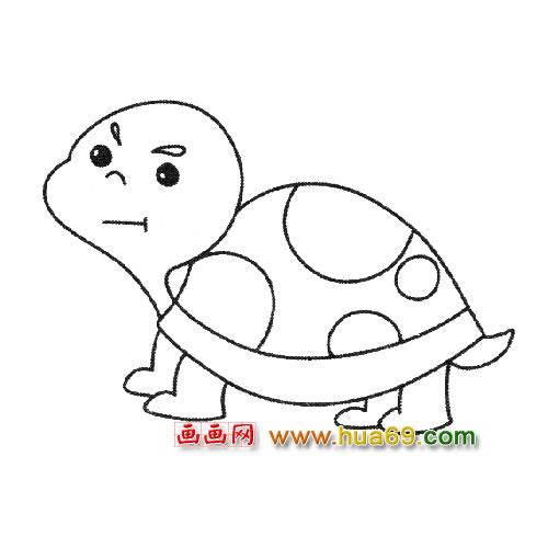 乌龟简笔画大全大图