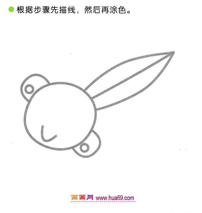 儿童画小蝌蚪