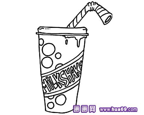 一杯可乐简笔画